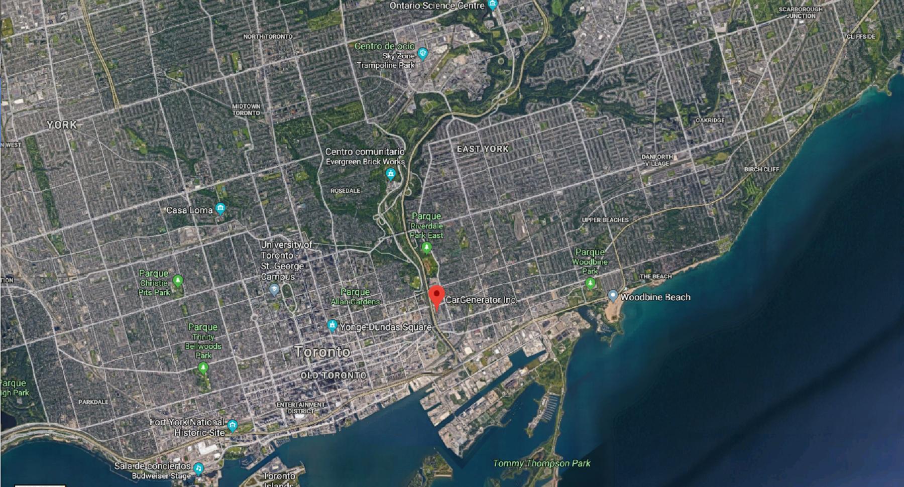 atemptat toronto   google maps