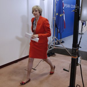 Theresa May-Primera Ministra-Regne Unit-efe