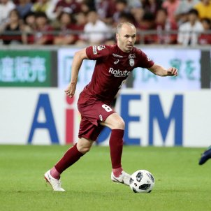 Andres Iniesta Vissel Kobe Japó   EFE