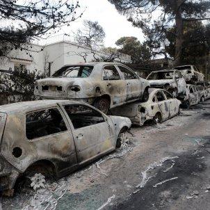 Incendis Grecia Mati juliol 2018 Efe