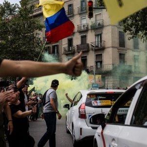 manifestacio taxistes barcelona vaga elite taxi - Carles Palacio