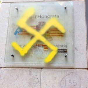 pintades nazis ciutat vella @cdrgoticraval
