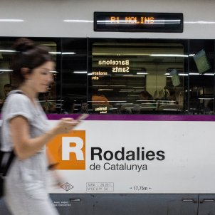 passatgers renfe rodalies catalunya trens - Carles Palacio