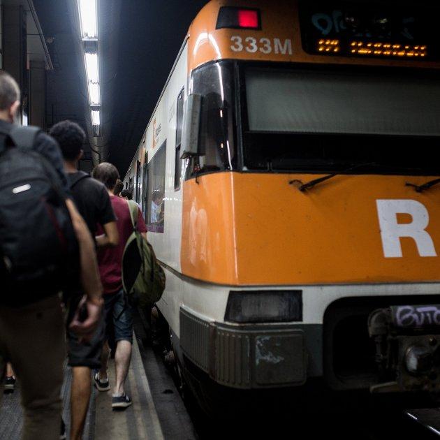 rodalies de catalunya tren estacio de sants - Carles Palacio