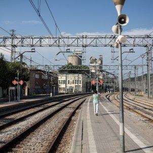 rodalies de catalunya tren vies infraestructures montcada i reixach bifurcacio estacio - Carles Palacio