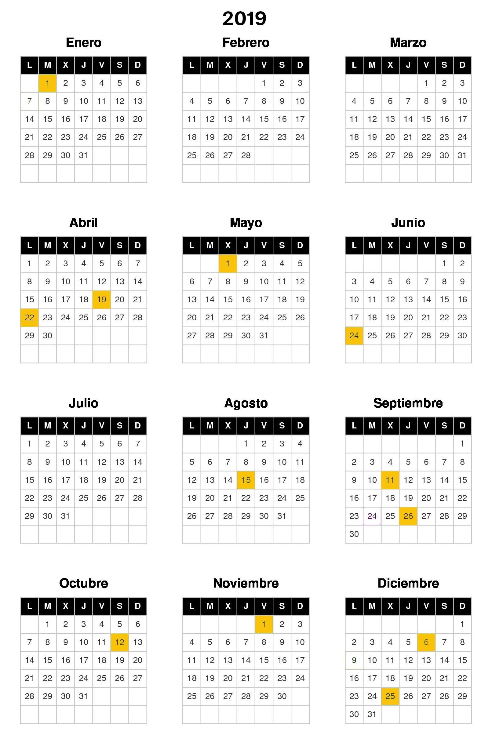 Calendario Laboral Cataluna 2019.El Consejo Laboral Aprueba El Calendario Laboral Del 2019