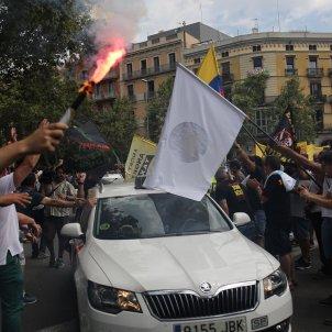 taxi manifestació