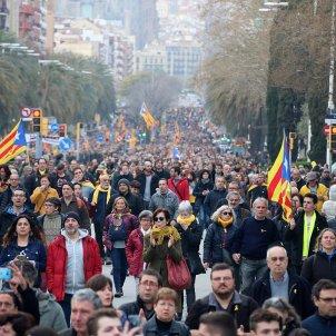 manifestació independentista - acn
