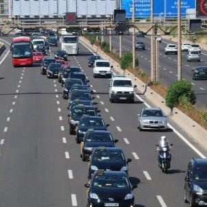 marxa lenta taxistes Barcelona. ACN