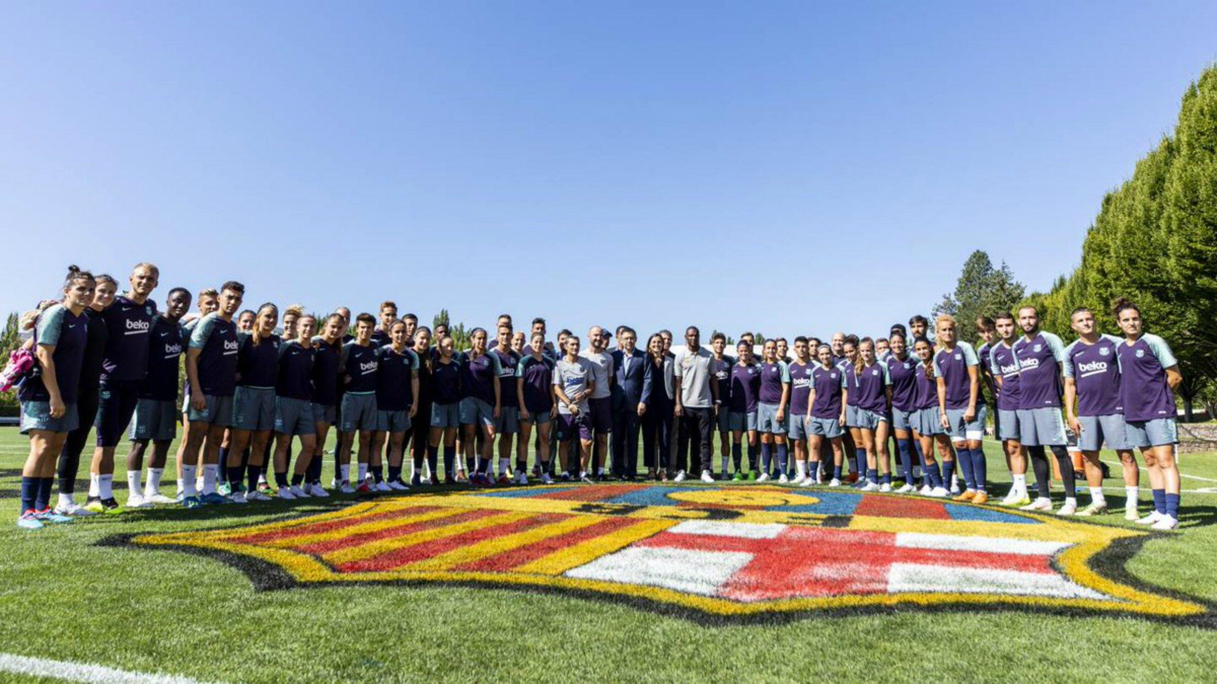 Barça masculí femenií gira mixta Estats Units FC BARCELONA