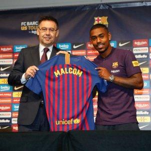 Malcom Bartomeu FC Barcelona presentació