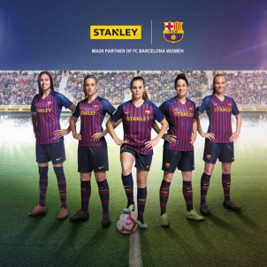 Stanley Barça femeni patrocini STANLEY