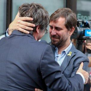 Carles Puigdemont i Torni Comín retrobada Brussel·les - EFE