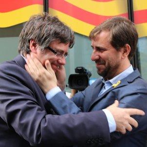Puigdemont Comin retrobada Brussel·les - ACN