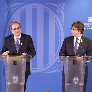 Torra Puigdemont delegació UE - Jordi Bedmar