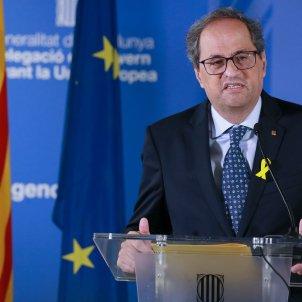 Torra roda premsa Brussel·les -EFE