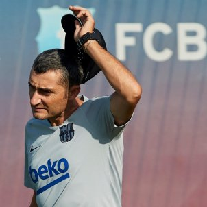 Ernesto Valverde entrenament Barça   EFE (2)