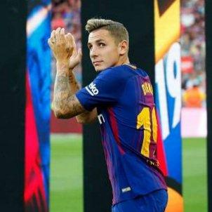 Lucas Digne defensa Barça   EFE