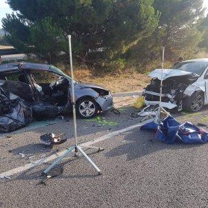 Accident Llinars - Mossos