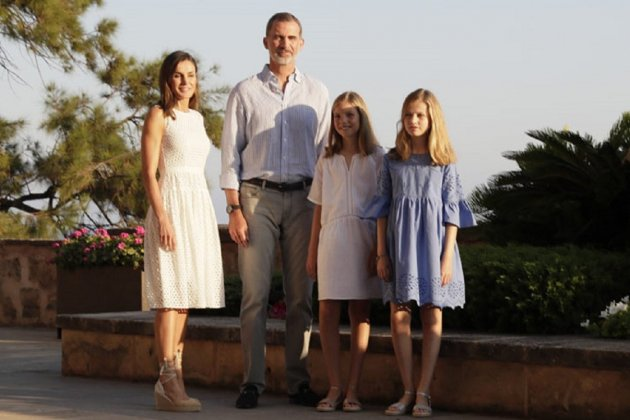 La Familia Real disfruta del concierto de Ara Malikian en Mallorca