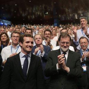 Rajoy, casado, santamaria efe