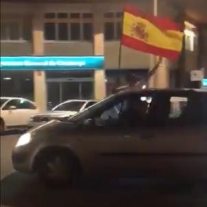 agressió feixista manresa @ArranManresa