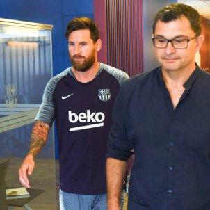 Leo Messi proves mèdiques Barça   FCB