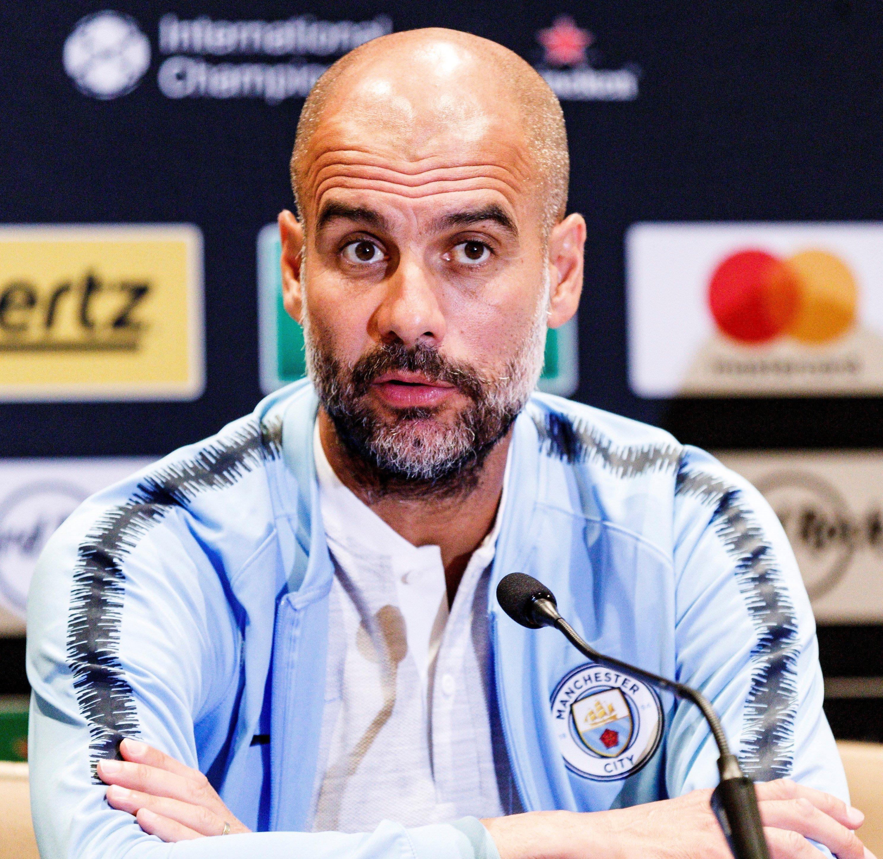Pep Guardiola Manchester City roda de premsa pretemporada   EFE