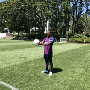 Malcom entrenament Barça presentació Estats Units   EFE