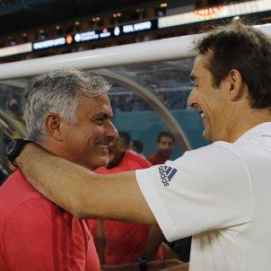 José Mourinho Julen Lopetegui Reial Madrid Manchester United   EFE