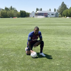 Malcom presentació Barça FCB   EFE