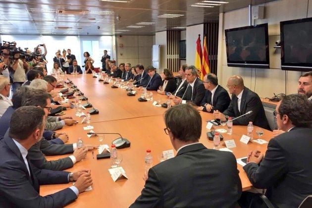Gabinet crisi atemptats amb Rajoy