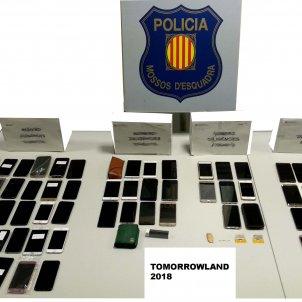 mobils robats tomorrowland - mossos