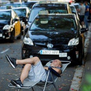 taxista barcelona. EFE