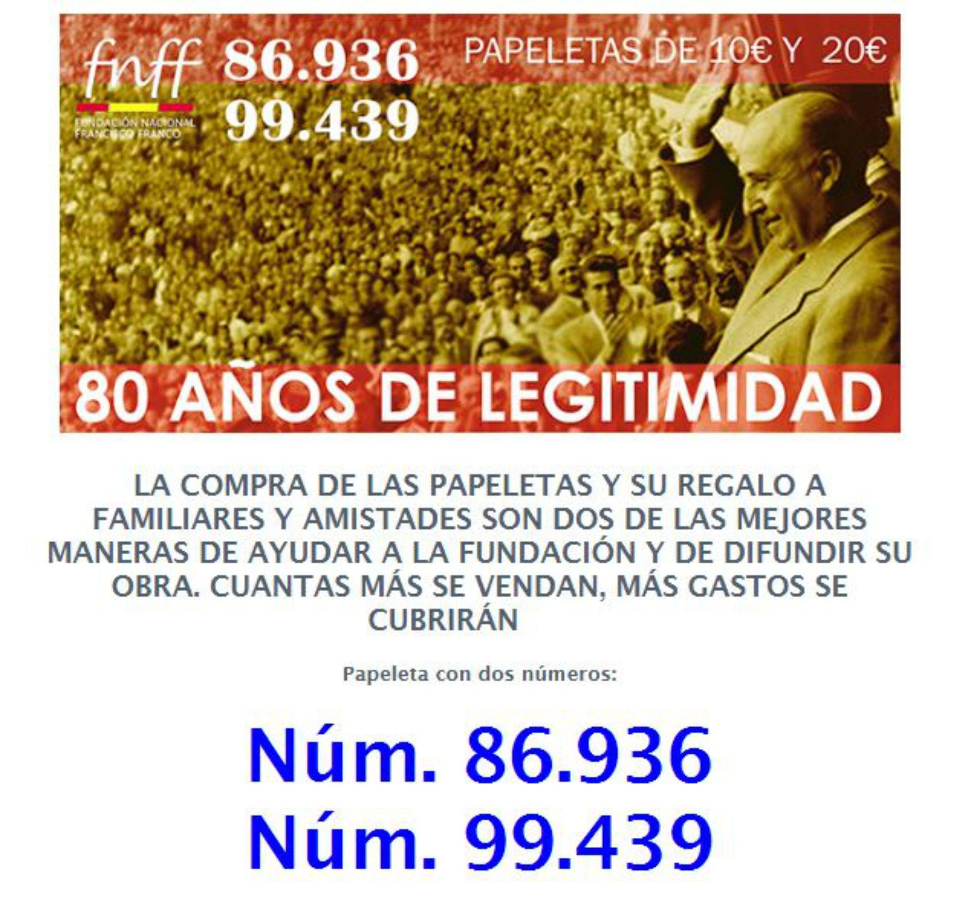 Franco Fundació Loteria