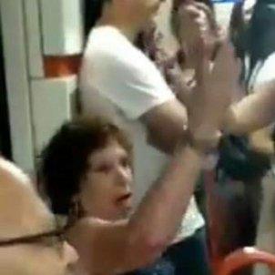 gran racisme metro madrid