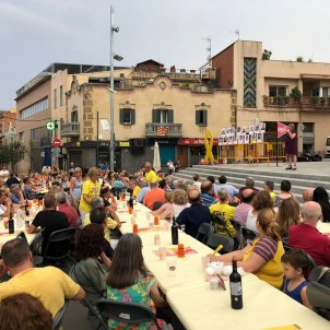 sopar groc Sant Vicenç Horts Junqueras Verges ERC