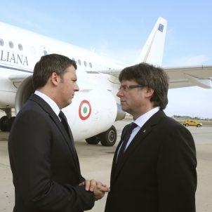 Renzi-Primer ministre Italia-Puigdemont-Reus-efe