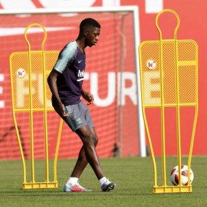 Ousmane Dembélé entrenament Barça   FCB