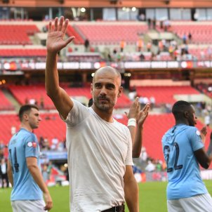 Pep Guardiola títol Community Shield Manchester City   EFE