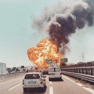 Explosió Bolonia (Twitter)
