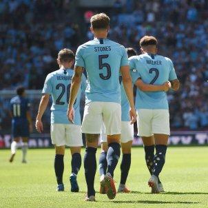 Manchester City celebració gol Chelsea   EFE
