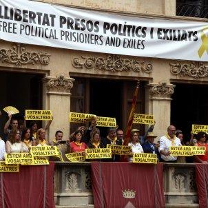 Pancarta presos polítics - ACN