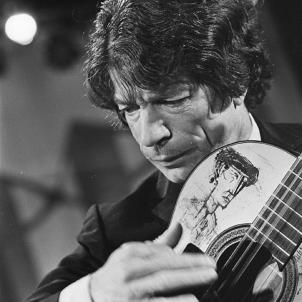 Neix Ricard Baliardo, el guitarrista gitano més internacional. Fotografia de Ricard Baliardo. Font Wikipedia