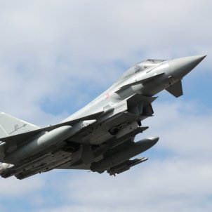 Eurofighter Typhoon 2000 avio militar - exercit de aire