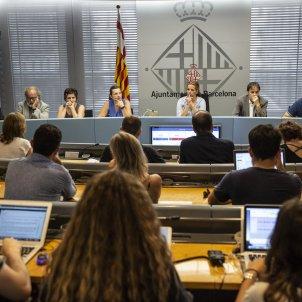 Comisio de seguretat ajuntament de barcelona - Sergi Alcazar