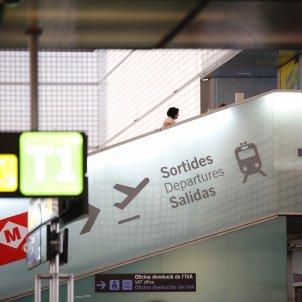 Aeroport prat T2 Ryanair sortides - Sergi Alcazar