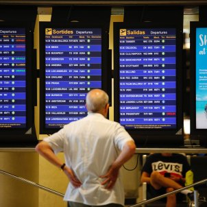 Aeroport prat T2 Ryanair vol retards - Sergi Alcazar