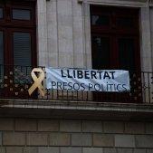 pancarta presos polítics ciutadans Reus - ACN