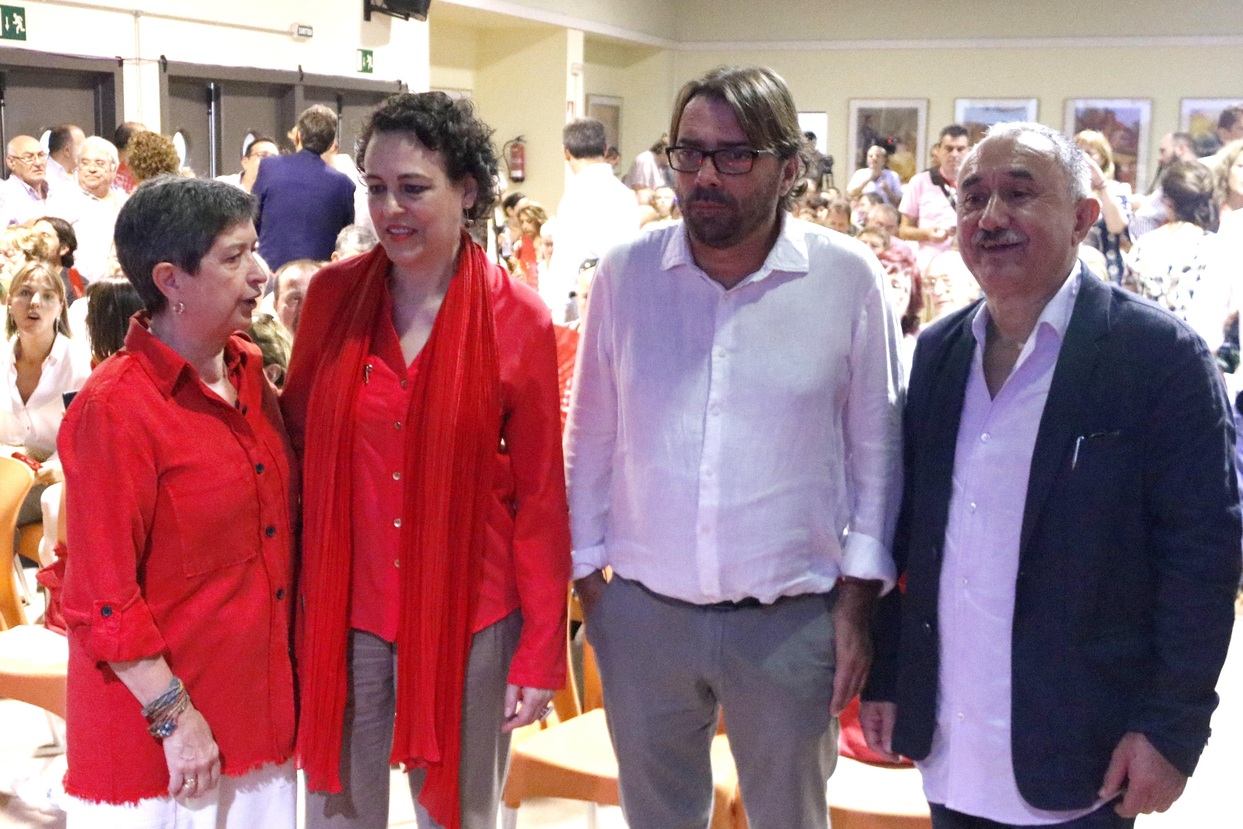 ministra ugt camil jose alvarez magdalena valerio - acn